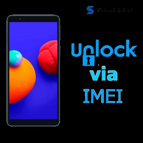 Liberar / Desbloquear Samsung Galaxy A01 Core AT&T MX - Unefon por IMEI