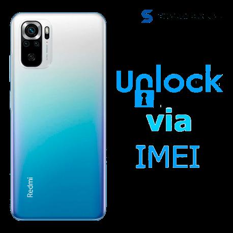 Liberar / Desbloquear Xiaomi Redmi Note 10S AT&T México ( Iusacell - Unefon ) por IMEI