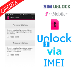 Liberar / Desbloquear T-Mobile - Mobile Device Unlock App ( Android Device Unlock)