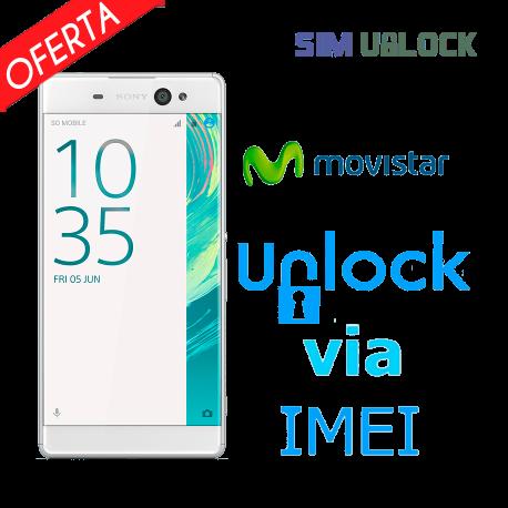 Liberar / Desbloquear Sony Xperia Movistar por IMEI (TODOS MODELOS)