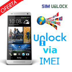 Unlock HTC by IMEI (All companies) *