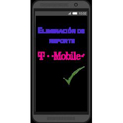 (Quitar reporte) Limpieza de IMEI T-MOBILE por IMEI (TODOS LOS MODELOS)