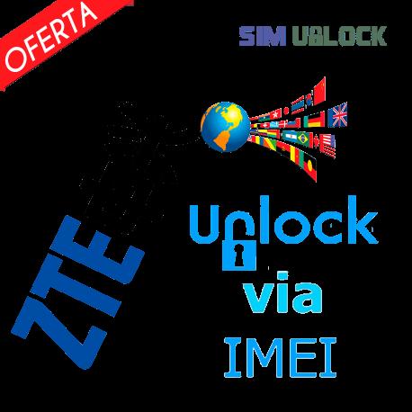 Liberar / Desbloquear ZTE por IMEI (TODOS MODELOS)(Express)