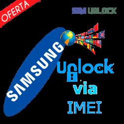 Liberar / Desbloquear SAMSUNG Worldwide por IMEI (TODOS MODELOS)
