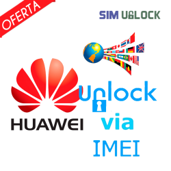 Liberar / Desbloquear Huawei por IMEI (TODOS MODELOS) (NOT FOUND)