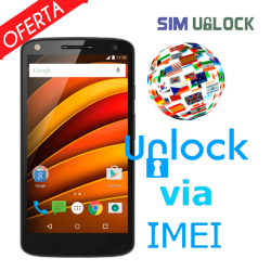 Unlock / Unlock Motorola by IMEI (All models) (Express)