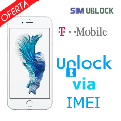 Liberar / Desbloquear iPhone 5, 5s, 5c, 6, 6S, 6 Plus, 6S Plus T-Mobile USA por IMEI (Limpios o financiados)