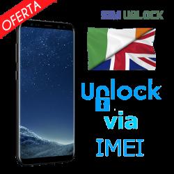 Liberar / Desbloquear Samsung Reino Unido o Irlanda por IMEI (TODOS MODELOS)