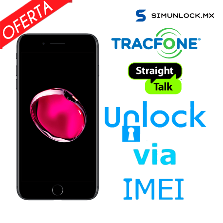 Liberar / Desbloquear iPhone Straight Talk / Tracfone ( Hasta 7 Plus y SE ) por IMEI