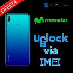 ► Liberar / Desbloquear Huawei Y7 2019 Movistar por IMEI