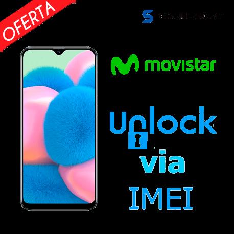 Liberar / Desbloquear Samsung Galaxy A30s Movistar por IMEI