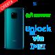 Liberar / Desbloquear Huawei Mate 20 Movistar por IMEI