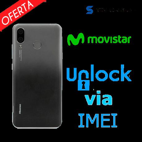 Liberar / Desbloquear Hisense V5 Movistar por IMEI