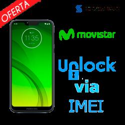 Liberar / Desbloquear Moto G7 Power Movistar por IMEI