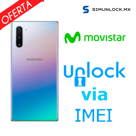 Liberar / Desbloquear Samsung Galaxy Note 10 Plus Movistar por IMEI