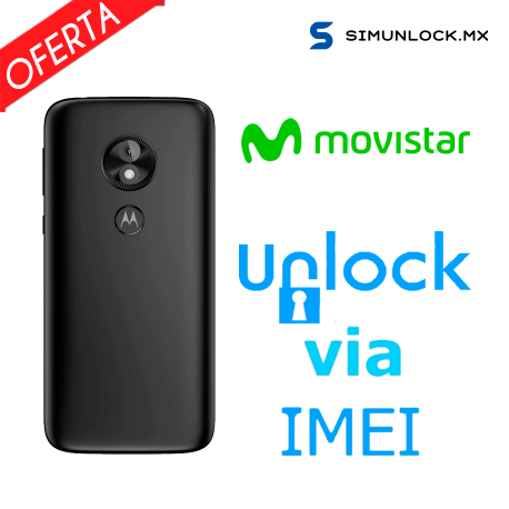 Liberar / Desbloquear Moto E5 Play Movistar por IMEI