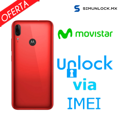 Liberar / Desbloquear Moto E6 Plus Movistar por IMEI