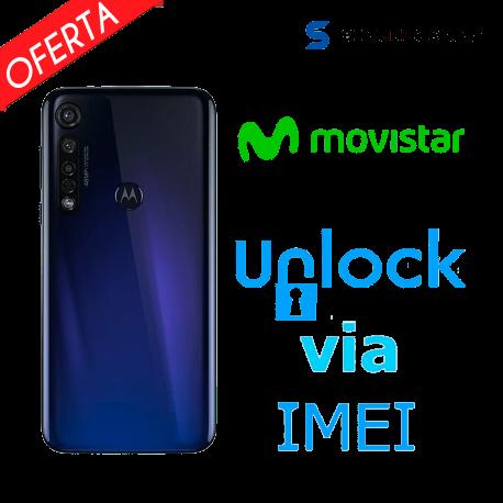 Liberar / Desbloquear Moto G8 Plus Movistar por IMEI