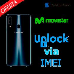 ► Liberar / Desbloquear Samsung Galaxy A20s Movistar por IMEI