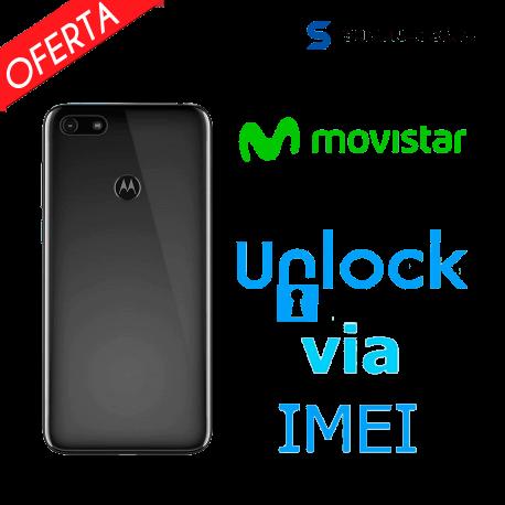 Liberar / Desbloquear Moto E6 Play Movistar por IMEI