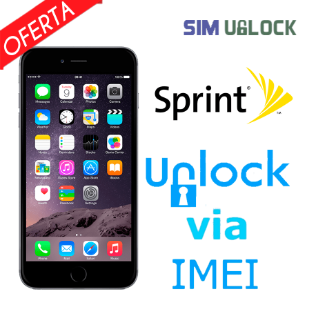 Liberar / Desbloquear iPhone 6, 6 Plus Sprint por IMEI