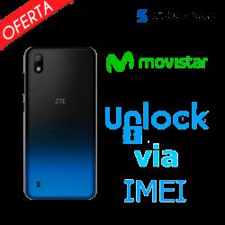 ► Liberar / Desbloquear ZTE Blade A7 2019 Movistar por IMEI