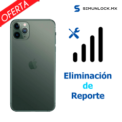 (Quitar reporte) Recupera señal iPhone 11 al 11 Pro Max ( AT&T MX - Iusacell - Unefon)