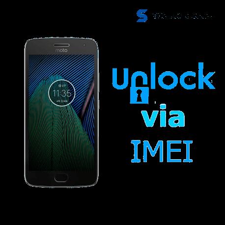 Liberar / Desbloquear Moto G5 AT&T MX por IMEI