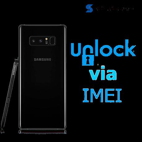 Liberar / Desbloquear Samsung Note 8 AT&T MX por IMEI