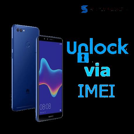 Liberar / Desbloquear Huawei Y9 2018 AT&T MX ( IUSACELL - NEXTEL) por IMEI
