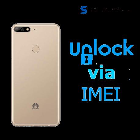 Liberar / Desbloquear Huawei Y7 2018 AT&T MX ( IUSACELL - NEXTEL) por IMEI