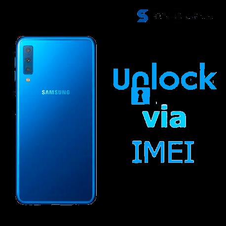 Liberar / Desbloquear Samsung Galaxy A7 2018 AT&T MX ( IUSACELL - NEXTEL) por IMEI