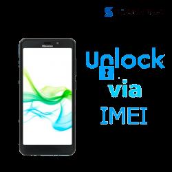 Liberar / Desbloquear Hisense U965 AT&T MX - IUSACELL por IMEI