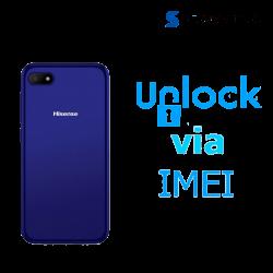 Liberar / Desbloquear Hisense V3 AT&T MX - IUSACELL por IMEI