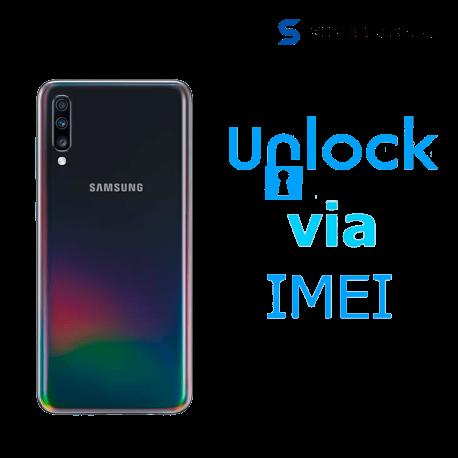Liberar / Desbloquear Samsung Galaxy A70 AT&T MX ( IUSACELL - NEXTEL) por IMEI