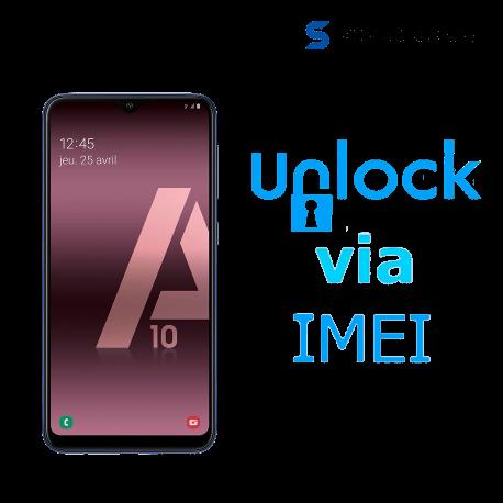 Liberar / Desbloquear Samsung Galaxy A10s AT&T MX ( IUSACELL - NEXTEL) por IMEI