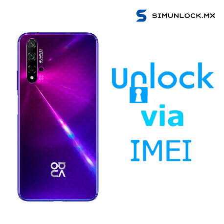 Liberar / Desbloquear Huawei Nova 5T AT&T MX ( IUSACELL - NEXTEL) por IMEI