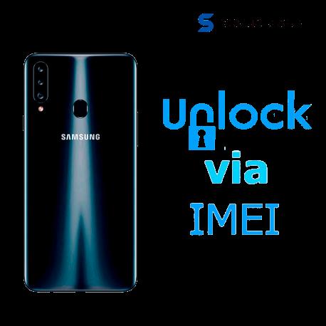 Liberar / Desbloquear Samsung Galaxy A20s AT&T MX ( IUSACELL - NEXTEL) por IMEI