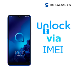 Liberar / Desbloquear Alcatel 3 AT&T MX - UNEFON por IMEI