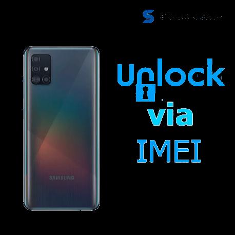 Liberar / Desbloquear Samsung Galaxy A51 AT&T MX - Unefon por IMEI
