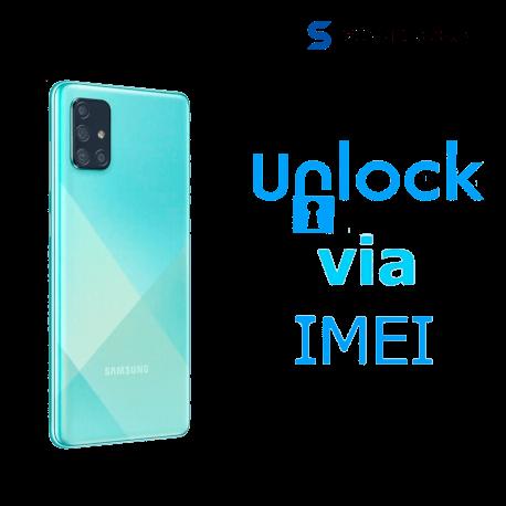 Liberar / Desbloquear Samsung Galaxy A71 AT&T MX - Unefon por IMEI