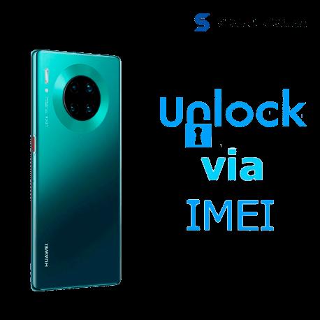 Liberar / Desbloquear Huawei Mate 30 Pro AT&T MX - Unefon por IMEI