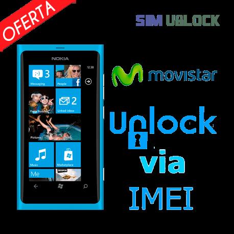Liberar / Desbloquear Nokia Lumia Movistar por IMEI (Todos los modelos)