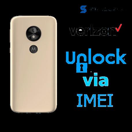 Liberar / Desbloquear Moto E5 Play - E5 Verizon por IMEI