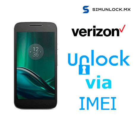 Liberar / Desbloquear Moto G4 Play Verizon por IMEI