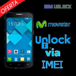 Liberar / Desbloquear Alcatel Movistar por IMEI (Todos los modelos)