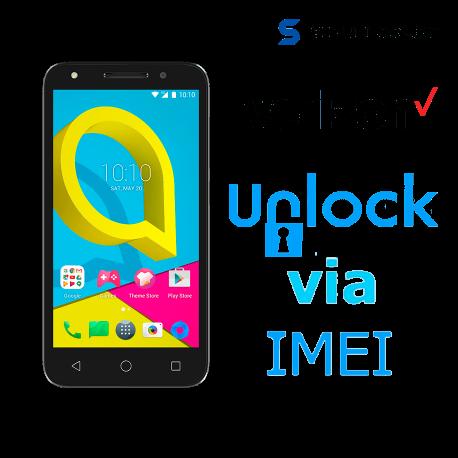 ► Liberar / Desbloquear Alcatel Verizon por IMEI