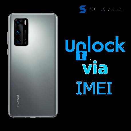 Liberar / Desbloquear Huawei P40 AT&T MX ( IUSACELL - NEXTEL) por IMEI