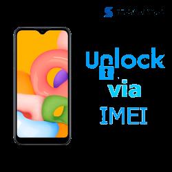 Liberar / Desbloquear Samsung Galaxy A01 AT&T MX - Unefon por IMEI