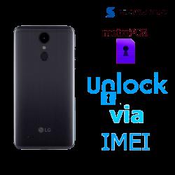Liberar / Desbloquear LG Aristo 2 MetroPCS por IMEI